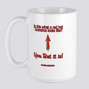 Red Hot Grandma Large Mug