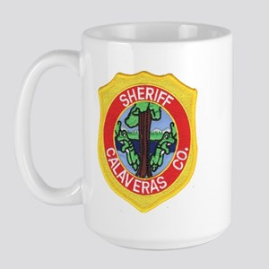 Calaveras County Sheriff Large Mug