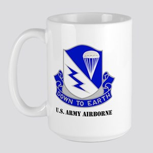 Army Airborne School Large Mug