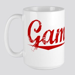 Gamache, Vintage Red Large Mug