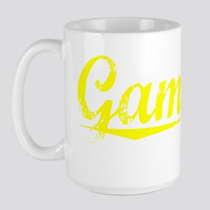 Gamache, Yellow Large Mug