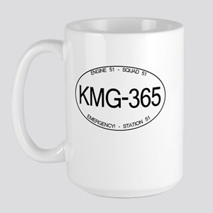 KMG-365 Squad 51 Emergency Large Mug