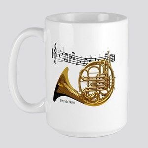 French Horn Music Large Mug