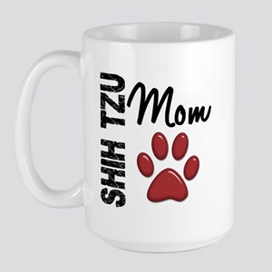 Shih Tzu Mom 2 Large Mug