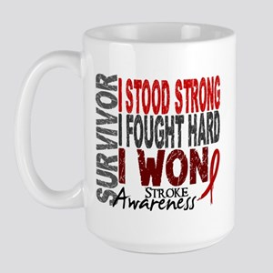 Survivor 4 Stroke Shirts and Gifts Large Mug