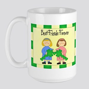 St. Paddy's Day- Best Friends Large Mug