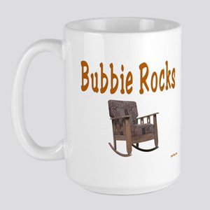 BUBBIE ROCKS YIDDISH Large Mug