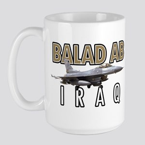 Balad Air Base F-16 Large Coffee Mug