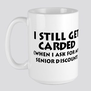 Humorous Senior Citizen Large Mug