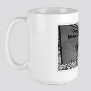 Welcome to Guantanamo Large Mug