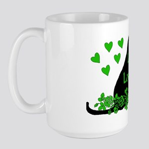 Love Me Love My Cat Large Mug