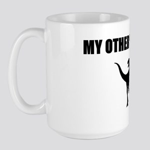 Other Ride is a Raptor Large Mug