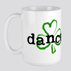 Irish Dancer Shamrock Large Mug