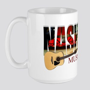 Nashville Music City USA Large Mug