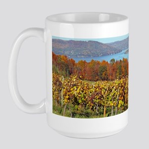 keuka lake Large Mug