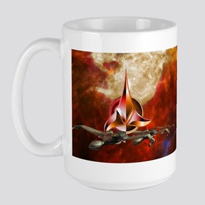 Unique Star Trek Klingon Large Mugs