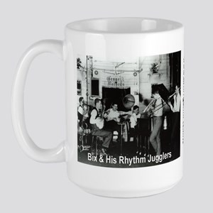 Bix Beiderbecke and His Rhythm Jugglers Large Mug
