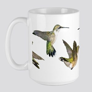 Hummingbirds Large Mug