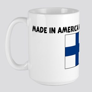 MADE IN AMERICA WITH FINNISH  Large Mug