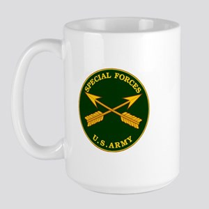 Special Forces Branch Plaque Large Mug
