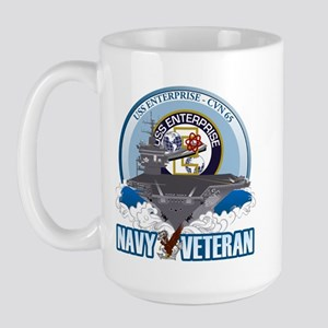 CVN-65 USS Enterprise Large Mug