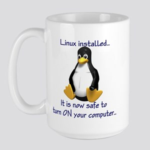 Linux Installed Large Mug
