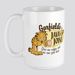 Java Joint Garfield Large Mug