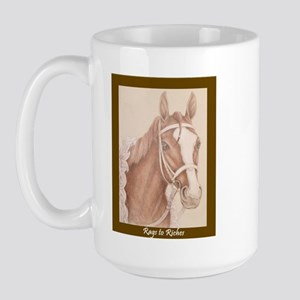 Rags To Riches Large Mug