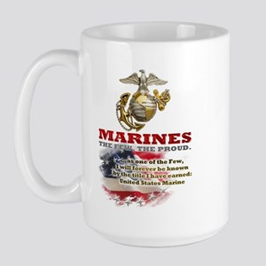 USMC Large Mug