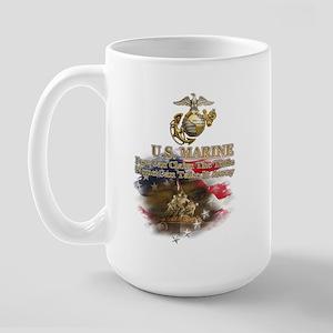 U.S. Marine: Large Mug