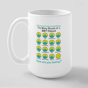 Many Moods Large Mug