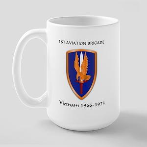 1st Aviation Brigade Large Mug