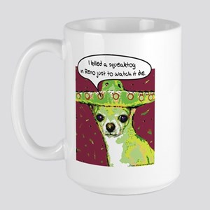 Killer Chihuahua Large Mug