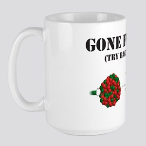 Gone Fission shirt Large Mug
