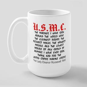 Thank God For The USMC Large Mug