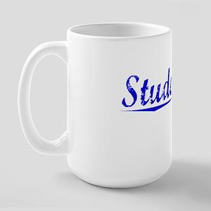 Studebaker, Blue, Aged Large Mug