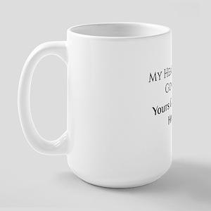 My Heart Large Mug