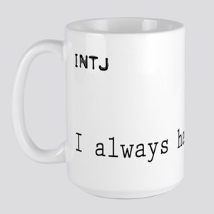 INTJplan Large Mug
