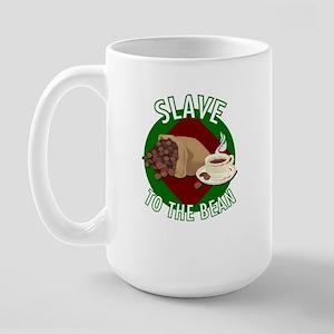 Slave To The Bean Large Mug