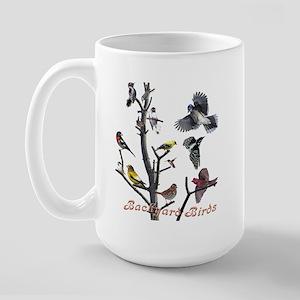 Backyard Birds Large Mug