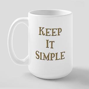 Keep It Simple 6 Large Mug