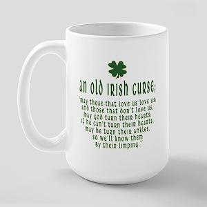 An Old irish curse Large Mug
