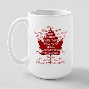 Canada Anthem Souvenir Large Mug