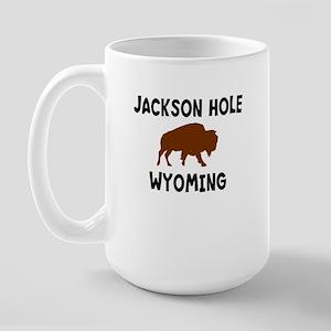 Jackson Hole Wyoming Large Mug