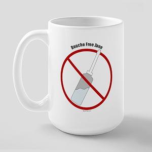 Douche Free Zone Large Mug