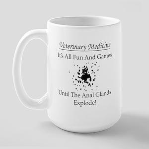 Anal Gland Design Large Mug