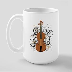 Violin Large Mug