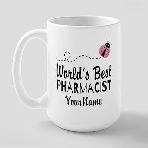 World's Best Pharmacist Large Mug Mugs