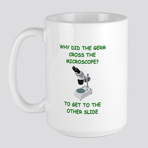 biology joke Large Mug