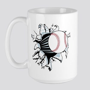 Breakthrough Baseball Large Mug